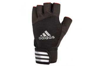 Adidas Elite Weight/Strength Unisex M Training Grip Gloves Fit/Gym/Sports Black