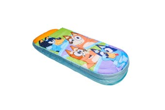 Bluey Family 150cm Ready Inflatable Kids Air Bed/Sleeping Mattress w/Pump/Bag