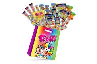22pc Trolli Kids Candy Showbag w/Gummy Bear/Sea Critters/Cola Bottles/Burgers