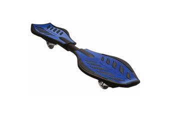Razor RipStik Standing Caster 360 Degree Board Kids/Adult Skateboard 8y+ Blue