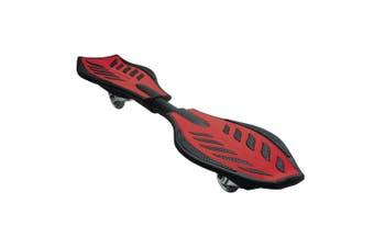 Razor RipStik Standing Caster 360 Degree Board Kids/Adult Skateboard 8y+ Red