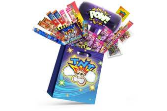 20pc TNT Ka-Bluey Kids Lollies Showbag w/Ice Pop/Chew Bar/Chew Ball/Straps/Slime