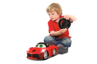 BB Junior Ferrari My First RC LaFerrari Car w/Sounds/Lights Kid/Toddler Toy 2y+