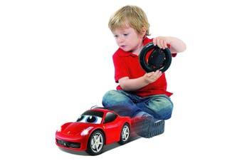 BB Junior Ferrari My First RC 458 Italia Car w/Sounds/Lights Kid/Toddler Toy 2y+