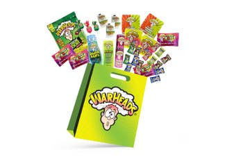 32pc Jumbo Mega Warheads Kids Showbag w/Candy/Lollipops/Jelly Beans/Double Drops