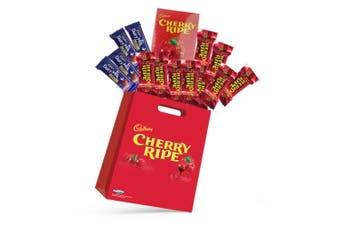 14pc Cadbury Cherry Ripe Kids Showbag with Dairy Milk Chocolates/Playing Cards