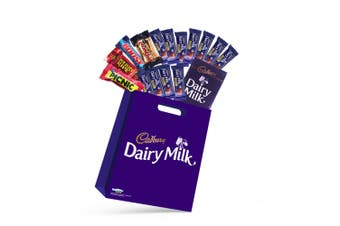 15pc Cadbury Dairy Milk Showbag w/Picnic/Crunchie/Boost Chocolates/Playing Cards