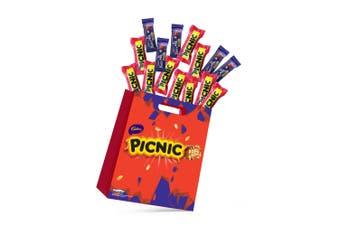 15pc Cadbury Picnic Kids Showbag with Bite Size Dairy Milk & Picnic Chocolates