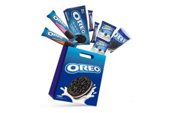 7pc Oreo Kids Showbag w/Original/Chocolate/Strawberry Cookie/Mini Pouch/wafers