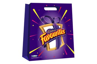 10pc Cadbury Favourites Kids/Family Showbag w/Favourite Boxes/Crunchie/Boost