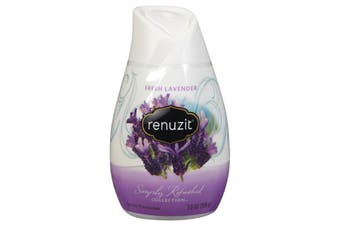 189g Renuzit Fresh Lavender Gel Air Freshener Home Fragrance Odour Control