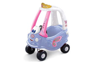 Little Tikes Kids Fairy Cozy Coupe Toddler Children Ride-On Toy Car Purple 18m+