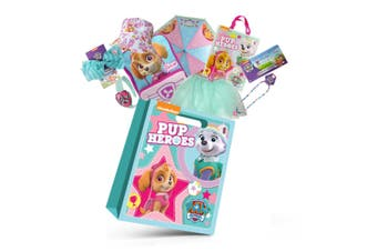 Paw Patrol Skye Girls Showbag w/Backpack/Bucket Hat/Necklace/Umbrella/Skirt