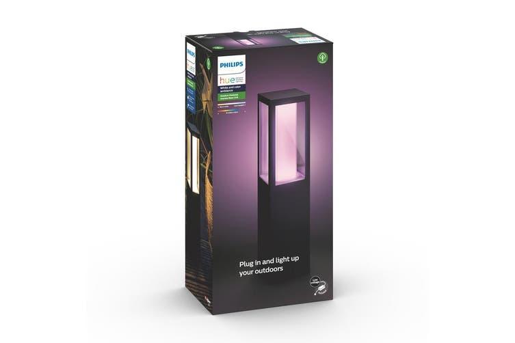 Philips Hue Impress LED Outdoor Pedestal Warm/Cool Path Smart Light Base Kit