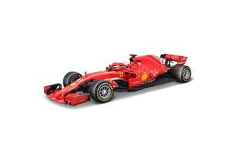Bburago 1:18 Ferrari Racing Formula 1SF71H 2018 Diecast Vehicle Toy 14y+ Vettel