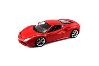 Bburago 1:18 Scale Ferrari Signature 488 GTB Diecast Car Vehicle Toy 14y+ Red
