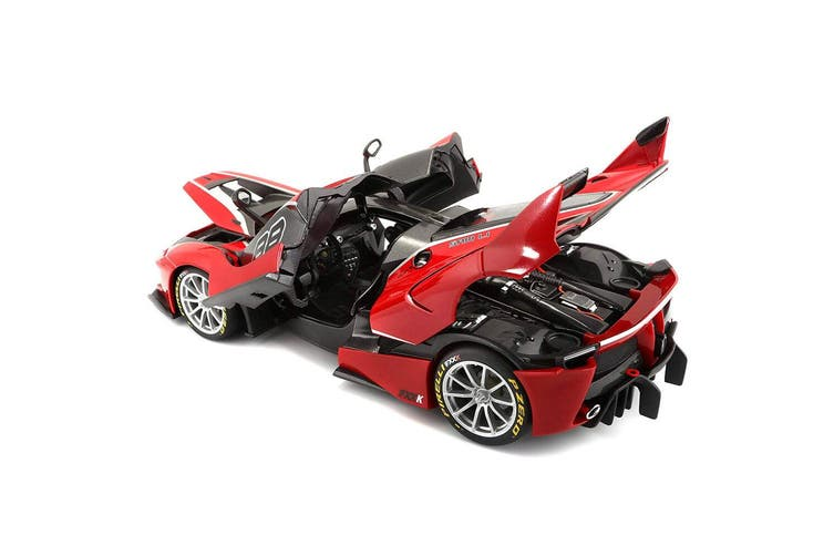 Bburago 1:18 Scale Ferrari Signature FXX-K #88 Diecast Car Vehicle Toy 14y+ Red