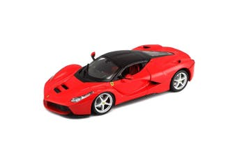 Bburago 1:24 Ferrari Race & Play LaFerrari Racing Diecast Car Toys/Play Red 3y+