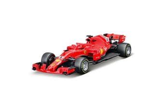 BBurago 1:43 Ferrari SF71H Diecast Model/Collectible Toy Car Vettel F1 2018 14m+