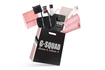 G-Squad Girls Showbag w/Gym Bag/Towel/Sports Bottle/Yoga Mat/Tote Bag/Purse