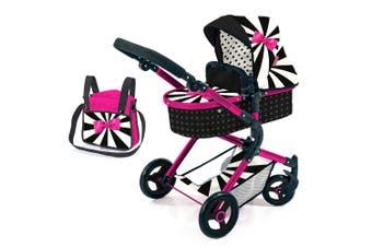 Bayer Cosatto City Vario Pram/Stroller Kids 3y+ Toy w/ Bag for 52cm Dolls Wonder