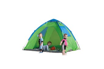 Banz 50+ Sun Protection Shelter 2m Pop Up Kids/Children Beach Tent Foldable GRN