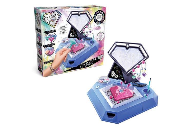 2PK Charm Stone Studio Crafts DIY Bracelet/Jewelry Maker Toy for Kids/Child 6y+