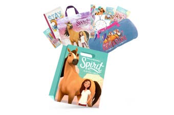 Spirit Kids Girls Showbag w/Dreamcatcher/Duffle bag/Necklace/Pens/Stickers/Stamp