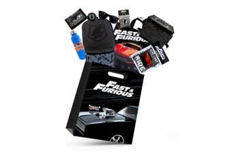 Fast & Furious Kids Boys Showbag w/Backpack/Coolerbag/Sunglasses/Wallet/Bottle