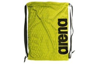 Arena Fast Mesh Backpack Drawstring for Swimming Suits/Sports Training Fluro YL