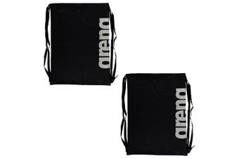 2PK Arena Fast Mesh Backpack Drawstring Bag f/ Swimming Suits/Sports Training BK