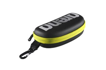 Arena Case Pouch Protection for Swimming/Training Swim Goggle Black/Fluro Yellow