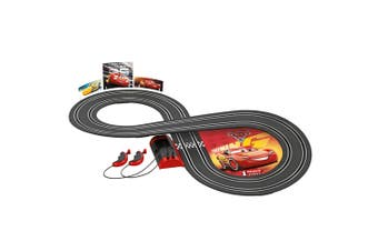 Carrera First Disney Pixar 2.4m Racing Slot Cars Track Set w/Remote Kids Toy