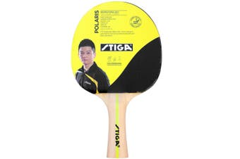 Stiga Polaris Table Tennis Bat Ping Pong Game Racket Paddle Rubber Black/Red