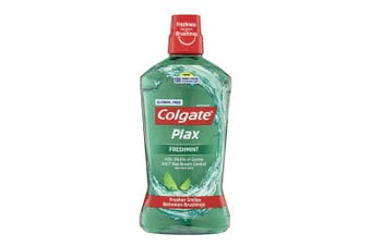 Colgate Plax Alcohol Free 1L Mouthwash/Mouth Wash Oral Care Freshmint