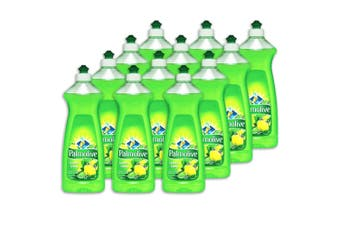 12x Palmolive 500ml Lemon Lime Dishwashing Liquid Detergent Wash Dishes Glass