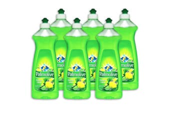 6x Palmolive 500ml Lemon Lime Dishwashing Liquid Detergent Wash Dishes Pan Glass
