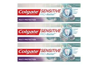 3x Colgate Sensitive ProRelief Multi Protection 110g Sensitive Teeth Toothpaste