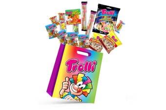15pc Trolli A Kids Candy Showbag w/Gummy Bear/Sea Critters/Cola Bottles/Burgers