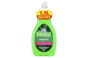 Palmolive 1.3L Original Ultra Strength Dishwashing Liquid/Soap Concentrate