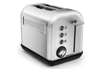Morphy Richards 850W  Equip 2 Slice Brushed Stainless Steel Toaster 22010