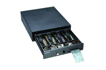 Steelmaster 460mm Metal Cash/Money Drawer/Organiser w/ Check Slot/Coins Tray