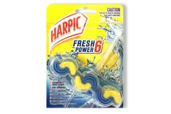Harpic Fresh 6 Power Toilet Bowl Flush Cleaner Summer Breeze/Cleaning Foam