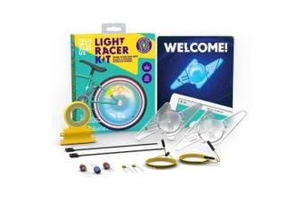 TechWillSaveUs DIY Light Racker Kit for Kids/Children Bike 8y+ Educational Toy