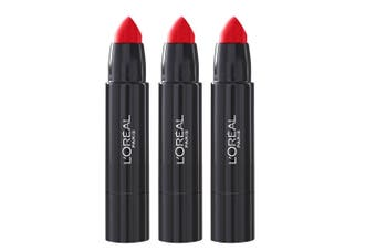 3x Loreal Paris SexyBalm Colour Moisturising Lips Balm Bold 203 Yala Yolo Makeup