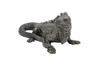 Australian Ceramic Water Dragon Sculpture Decoration 32cm Garden Home Decor Grey