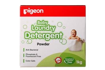 Pigeon 1kg Laundry Detergent Powder for Sensitive Skin Baby/Infant/Kids Clothes