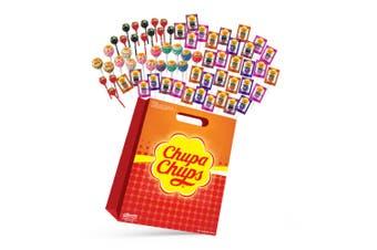 70pc Chupa Chups Kids Showbag w/Creamy/Tongue Painters/Lollipops Candy & Mentos