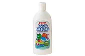 Pigeon 450ml Liquid Cleanser/Soap for Baby Teat/Bottles/Toys/Fruit/Vegetables