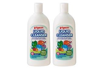 Pigeon 900ml Liquid Cleanser/Soap for Baby Teat/Bottles/Toys/Fruit/Vegetables